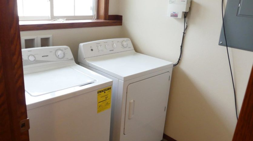 Ideal Twinhomes in Brookings, SD - In Home Washer and Dryer Floor Plan B