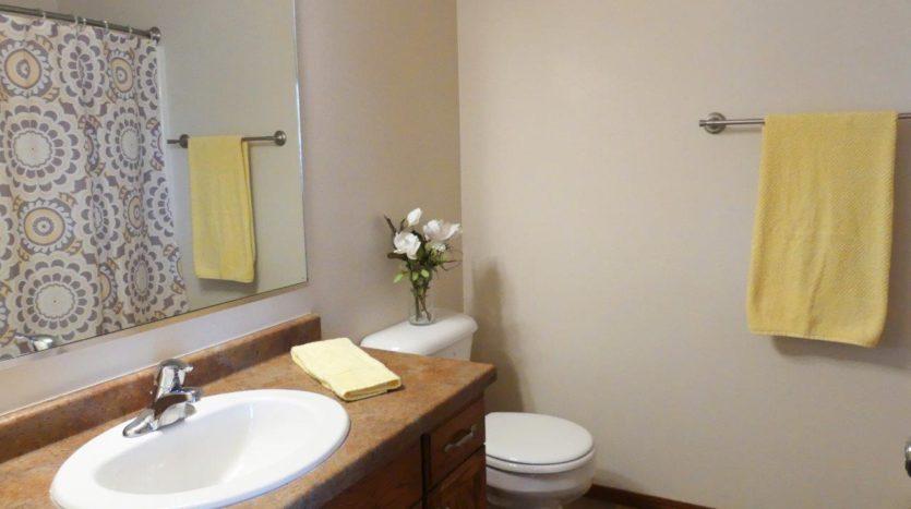 Ideal Twinhomes in Brookings, SD - Upstairs Bathroom Floor Plan B