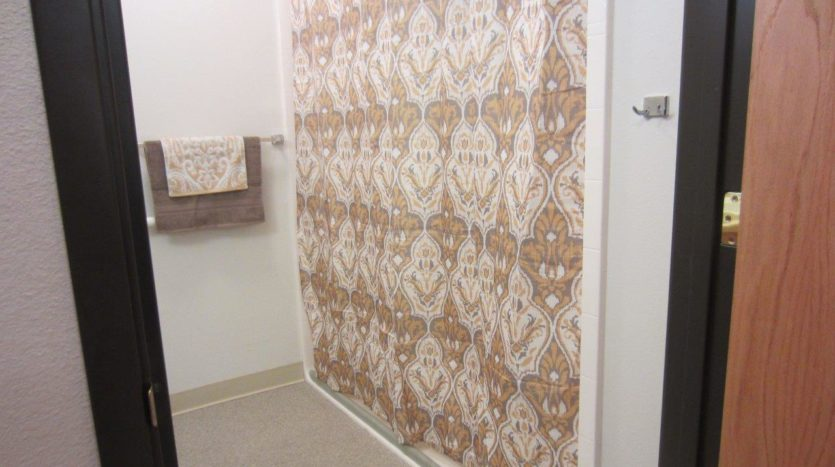 Pheasant Run Apartments in Brookings, SD - Alternative Bathroom Shower