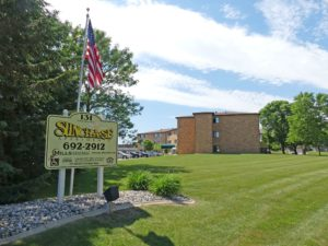 Sunchase Apartments in Brookings, SD - Property Sign