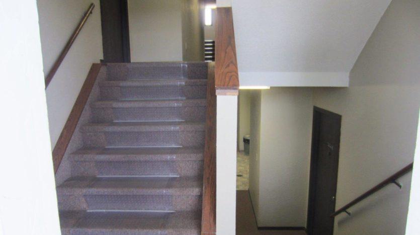 Dakota Village Apartments in Aurora, SD - Stairway