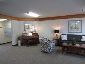 Sunrise Apartments in Yankton, SD - Comm Room Piano
