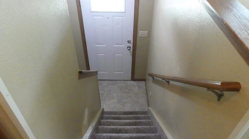 Sandpiper Townhomes in Brookings, SD - Upper Level Stairs