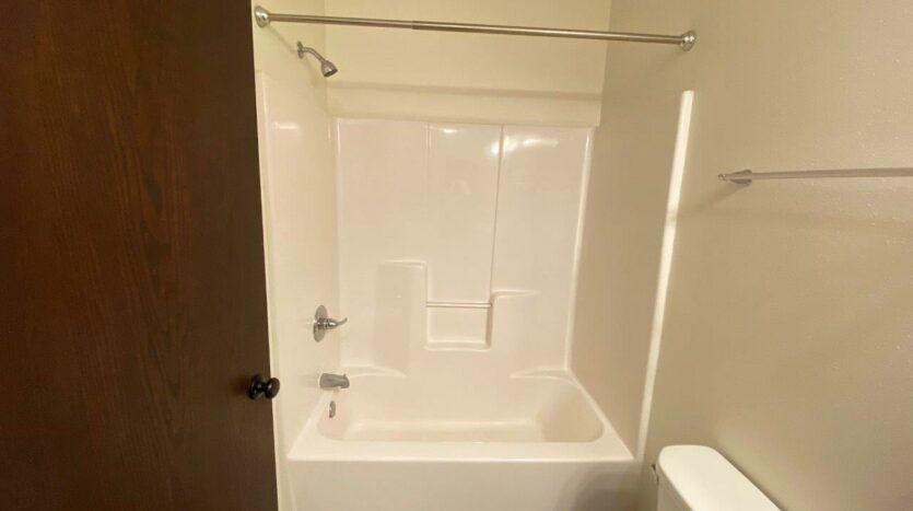 Downtown Lofts in Brookings, SD - 4 Bed Apartment Bedroom 3 Upstairs Bathroom