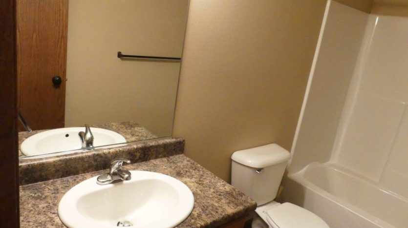 114 Brody Ave in Volga, SD - Upstairs Bathroom