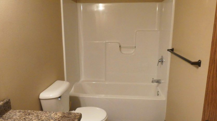 114 Brody Ave in Volga, SD - Upstairs Bathtub & Shower