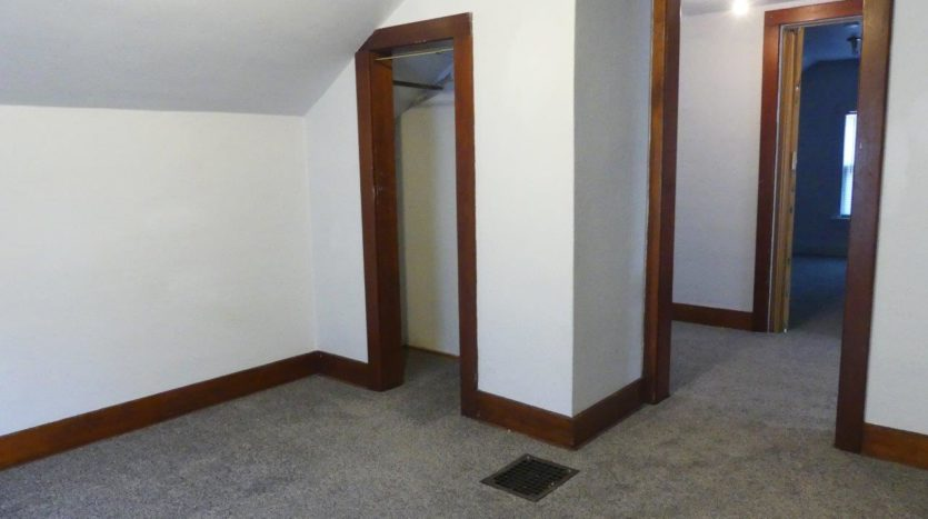 1211 4th Street in Brookings, SD - 2 Bedroom Closet (Upstairs)