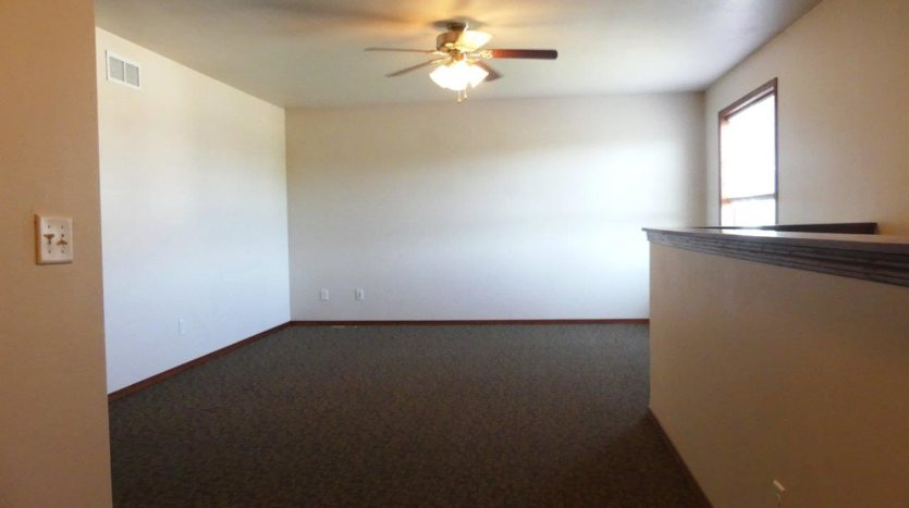 Ideal Twinhomes in Brookings, SD - Upstairs Living Area Floor Plan A