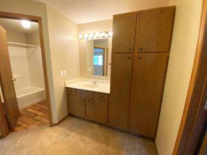 Springwood Townhomes in Watertown, SD - Bathroom Vanity