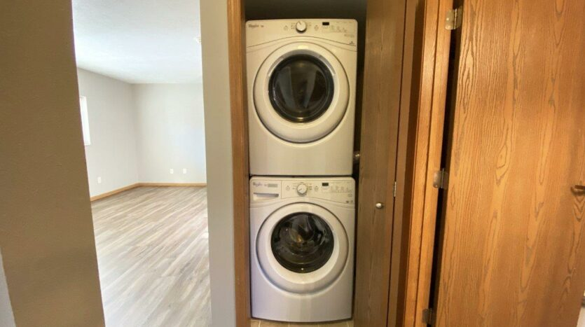 Evergreen Estates in Madison, SD - Washer and Dryer