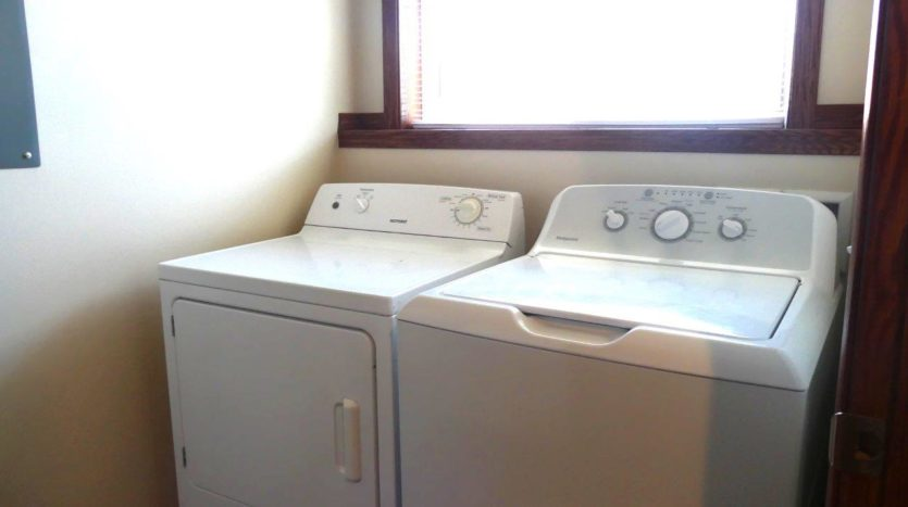 Ideal Twinhomes in Brookings, SD - Washer and Dryer Floor Plan A