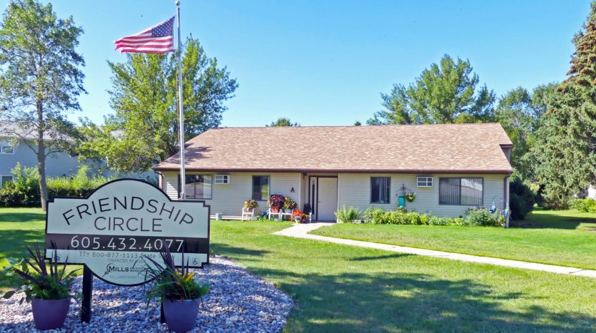 Friendship Circle Apartments in Milbank, SD - Exterior