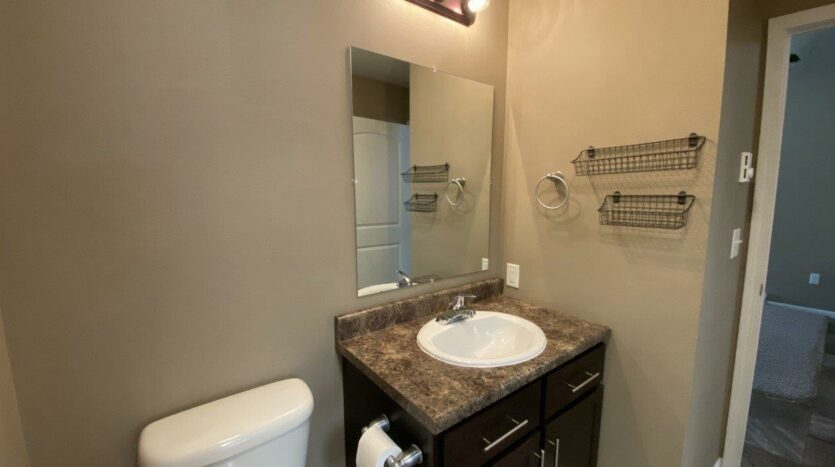 Copperleaf Townhomes in Mitchell, SD - Bathroom Vanity