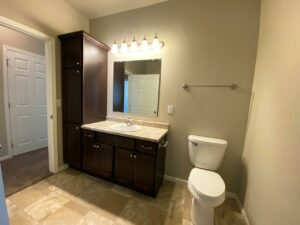 Evergreen Townhomes in Madison, SD - Bathroom Vanity