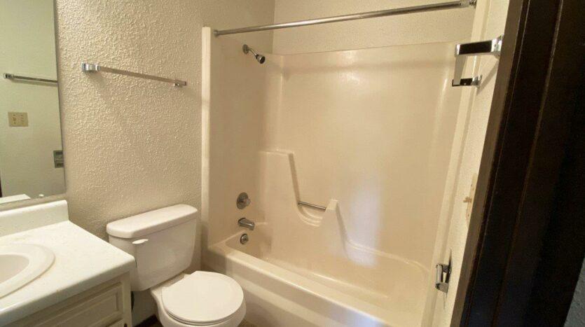Dakota Village Apartments in Aurora, SD - Bathtub and Shower