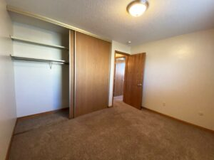 Madison Arms Apartments in Madison, SD - Bedroom 1 Closet