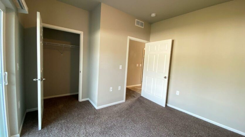 Evergreen Townhomes in Madison, SD - Bedroom 1 Closet