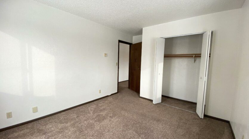 Lincoln Arms Apartments in Madison, SD - Bedroom 1 Closet