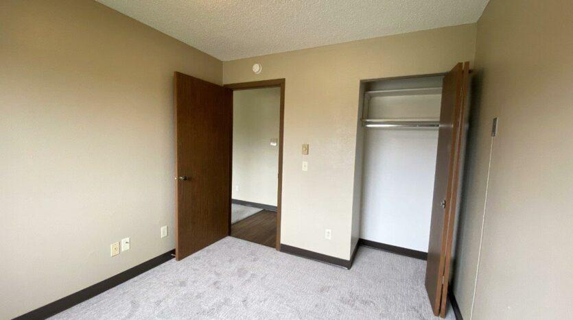 Briarwood Apartments in Brookings, SD - Bedroom 1 Closet