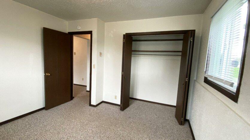 Dakota Village Apartments in Aurora, SD - Bedroom 1 Closet