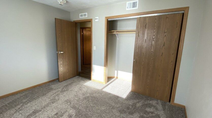Evergreen Estates in Madison, SD - Bedroom 2 Closet