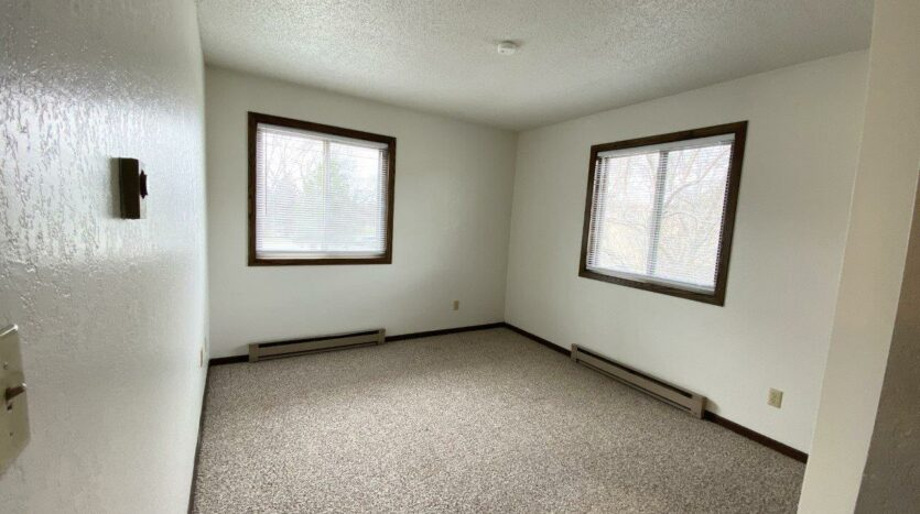 Clairview Apartments in Brookings, SD - 2 Bedroom Apartment Bedroom 1