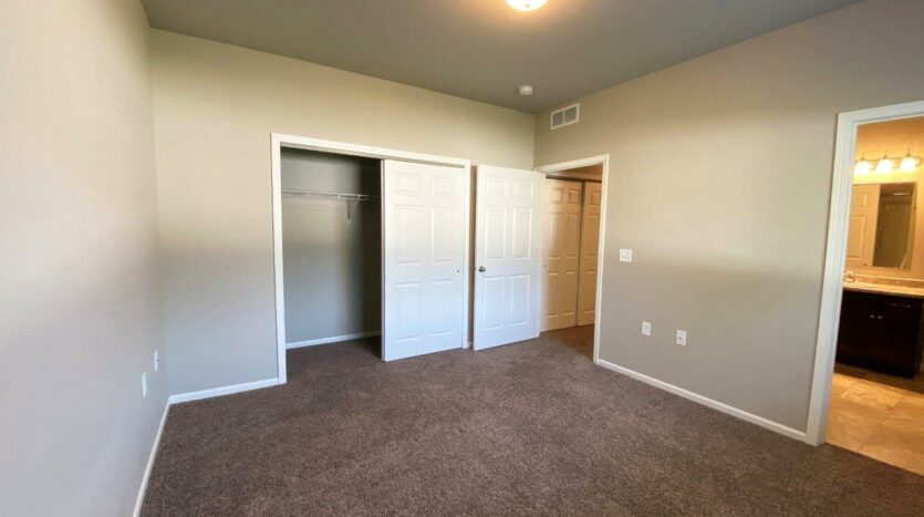 Evergreen Townhomes in Madison, SD - Bedroom 2 Closet