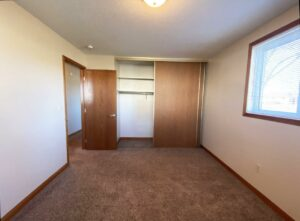 Madison Arms Apartments in Madison, SD - Bedroom 2 Closet