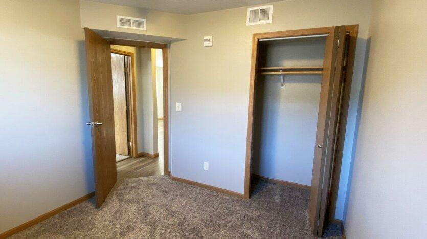 Evergreen Estates in Madison, SD - Bedroom 1 Closet