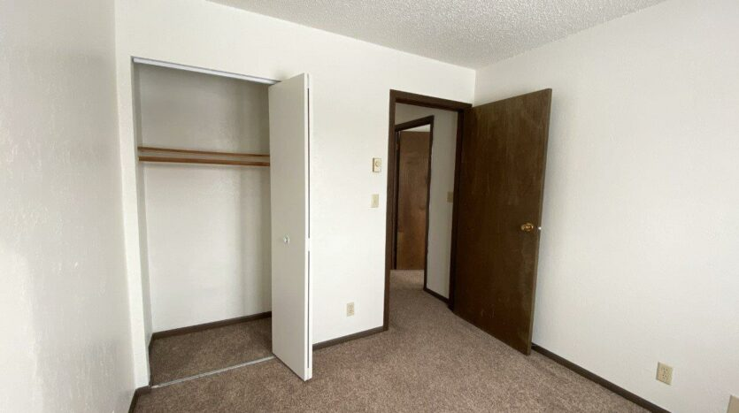Lincoln Arms Apartments in Madison, SD - Bedroom 2 Closet