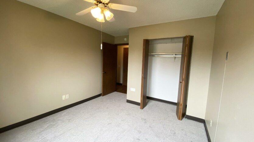 Briarwood Apartments in Brookings, SD - Bedroom 2 Closet