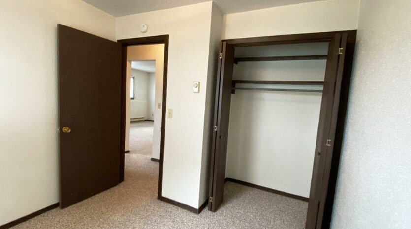 Dakota Village Apartments in Aurora, SD - Bedroom 2 Closet