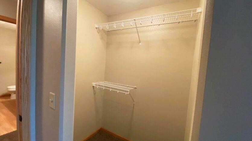 Tiyata Place Apartments in Brookings, SD - Bedroom 1 Closet