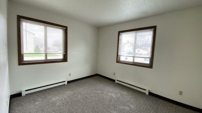 Clairview Apartments in Brookings, SD - 1 Bedroom Apartment Bedroom