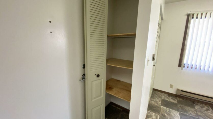 Friendship Circle Apartments in Milbank, SD - Front Closet