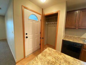 Tiyata Place Apartments in Brookings, SD - Front Closet