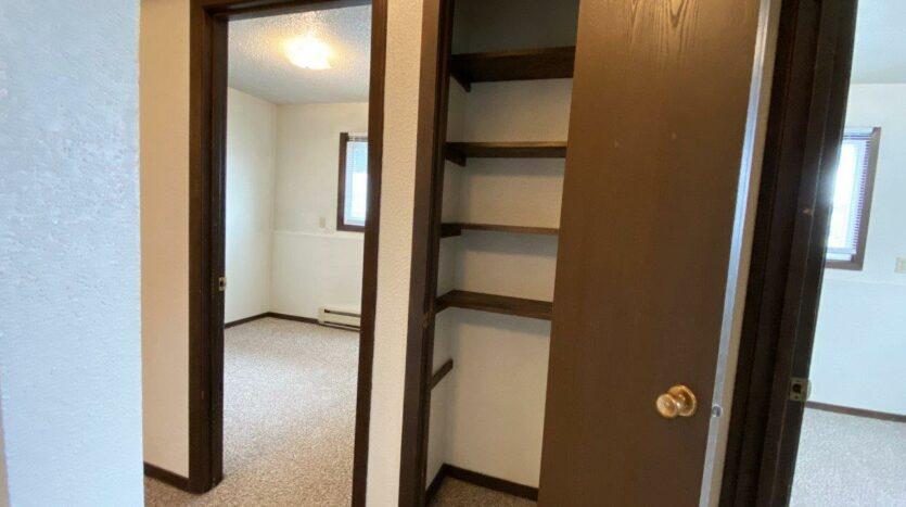 Dakota Village Apartments in Aurora, SD - Hallway Closet