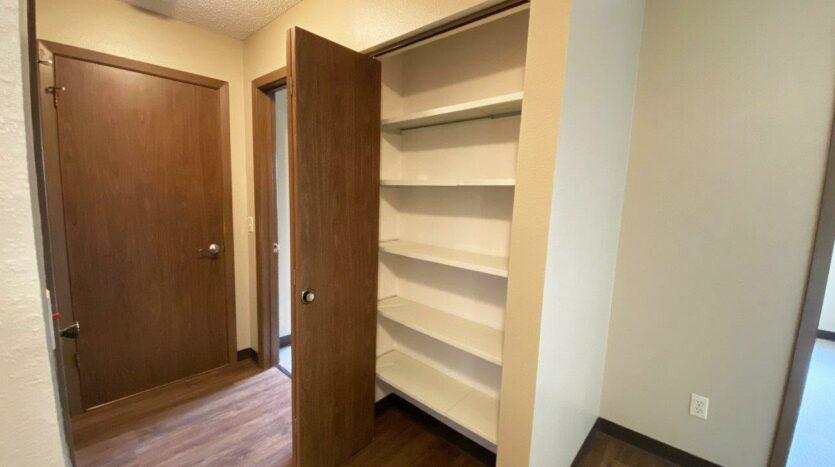 Briarwood Apartments in Brookings, SD - Hallway Closet