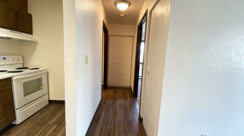 Clairview Apartments in Brookings, SD - 1 Bedroom Apartment Hallway