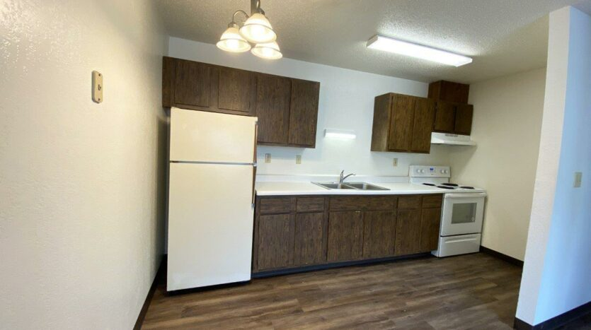Clairview Apartments in Brookings, SD - 1 Bedroom Apartment Kitchen