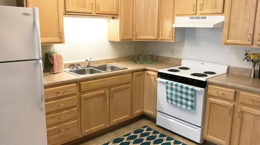 Pheasant Run Apartments in Brookings, SD - Kitchen