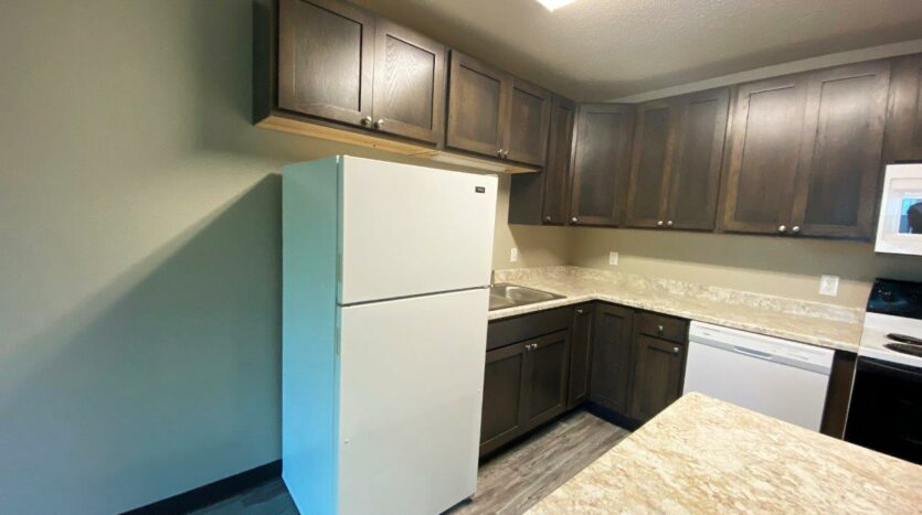 Arrowhead Apartments in Brookings, SD - Updated Apartment Kitchen3
