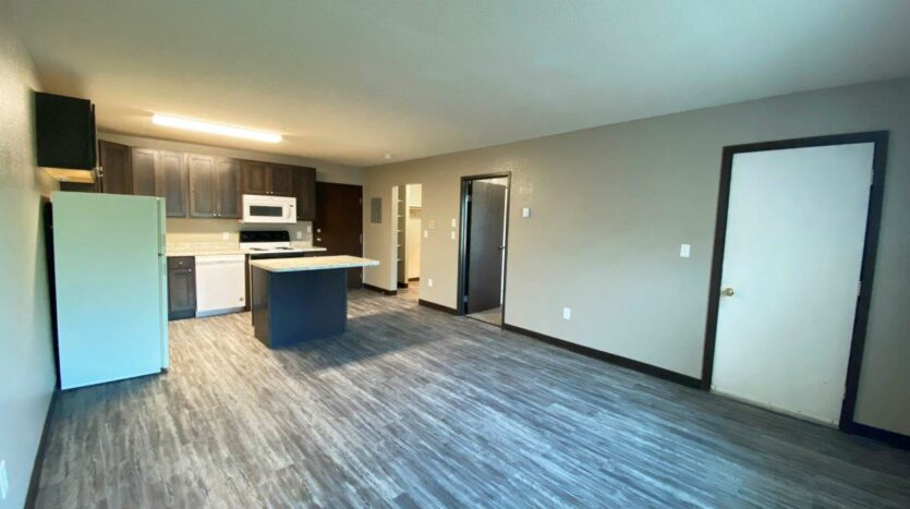 Arrowhead Apartments in Brookings, SD - Updated Apartment Living Area