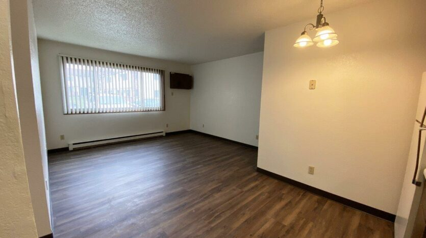 Clairview Apartments in Brookings, SD - 1 Bedroom Apartment Living Area2