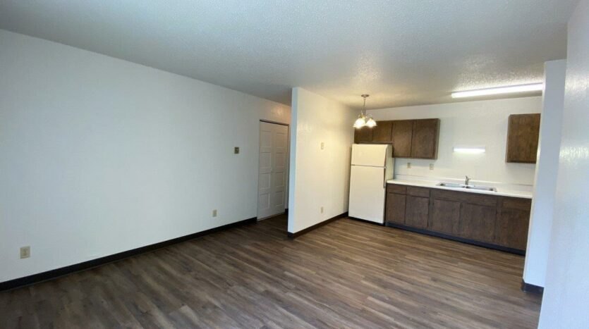Clairview Apartments in Brookings, SD - 1 Bedroom Apartment Living Area