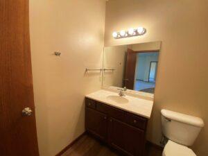 Mills Ridge Apartments in Brookings, SD - Style A Bathroom Vanity