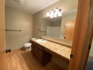 Tiyata Place Apartments in Brookings, SD - Main Bathroom Vanity