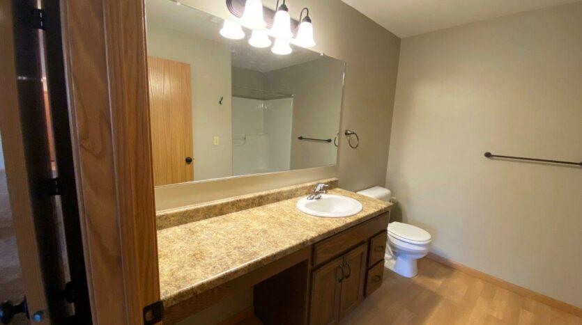 Tiyata Place Apartments in Brookings, SD - Master Bathroom Vanity