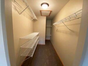 Tiyata Place Apartments in Brookings, SD - Master Bedroom Closet