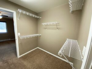 Copperleaf Townhomes in Mitchell, SD - Master Closet